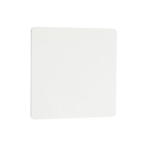 LED Textured matt white paint & frosted acrylic Wall Light 55595 by Endon